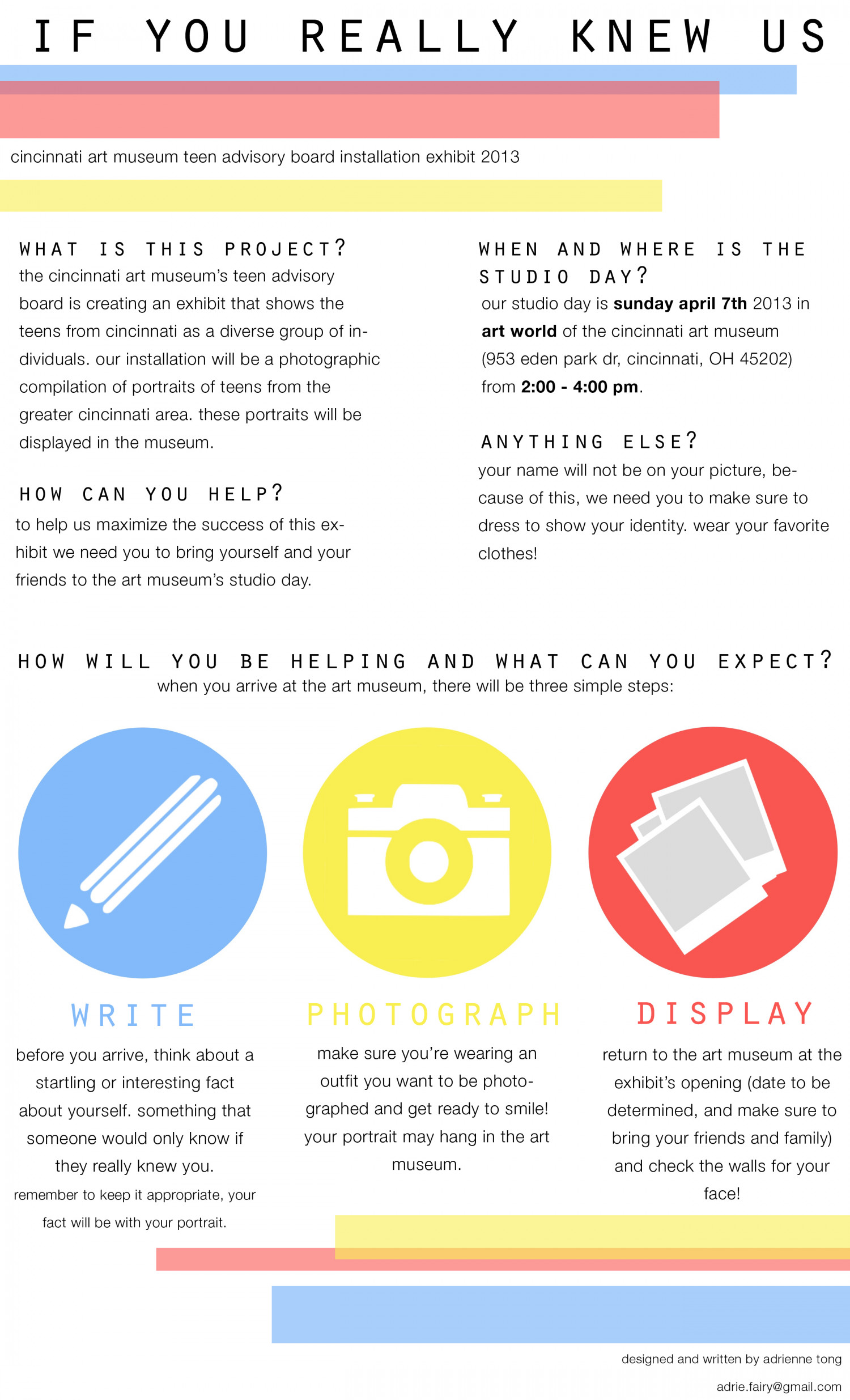 if you really knew us Infographic