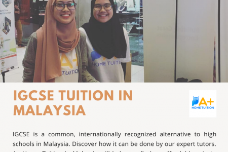 IGCSE Tuition in Malaysia Infographic