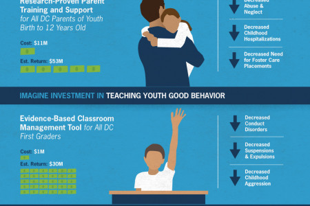 Imagine Investment in Youth Infographic