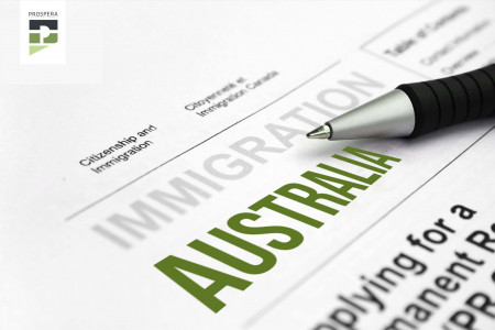 Immigration Australia Infographic