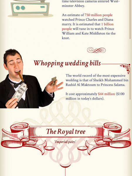 Imperial Royal Wedding Facts  Infographic