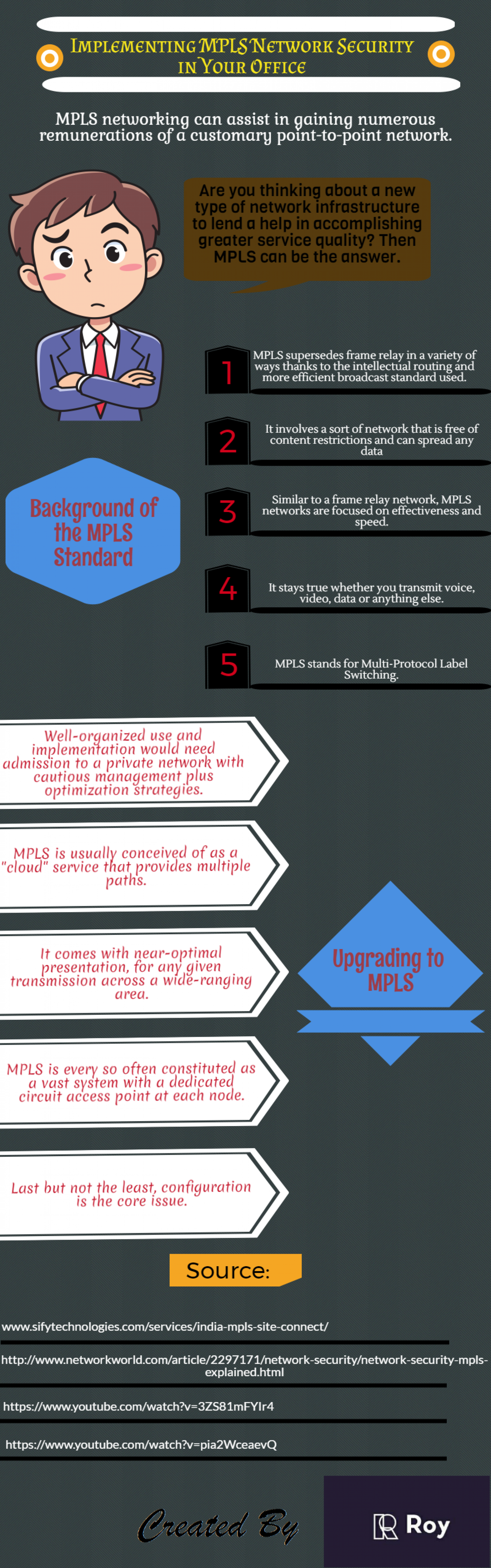 Implementing MPLS Network Security in Your Office Infographic