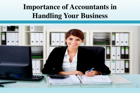 Importance of Accountants in Handling Your Business Infographic