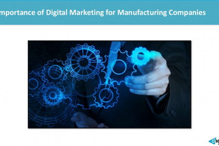 Importance of Digital Marketing for Manufacturing Companies Infographic