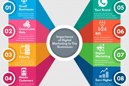 Importance of Digital Marketing to Business  Infographic