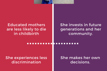 IMPORTANCE OF GIRL'S EDUCATION Infographic