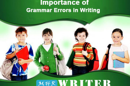 Importance of Grammar Errors in Writing Infographic