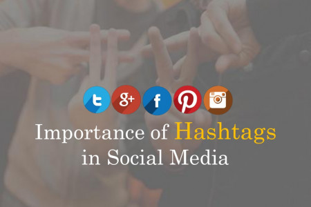 Importance of Hashtags in Social Media Infographic