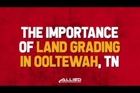 Importance of Land Grading Ooltewah TN Infographic