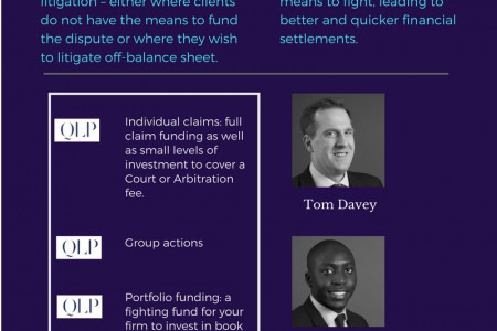 Importance of Litigation Funding Infographic