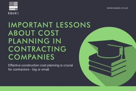 Important Lessons About Cost Planning in Contracting Companies Infographic