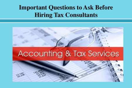 Important Questions to Ask Before Hiring Tax Consultants  Infographic