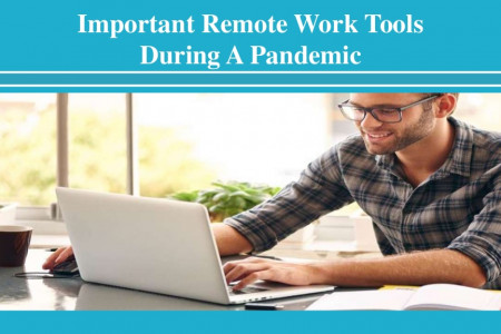 Important Remote Work Tools During a Pandemic Infographic