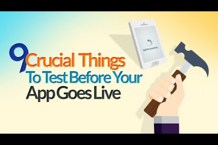 Important Things to Test Before Launching a Mobile App Infographic