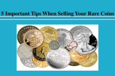 Important Tips When Selling Your Rare Coins Infographic