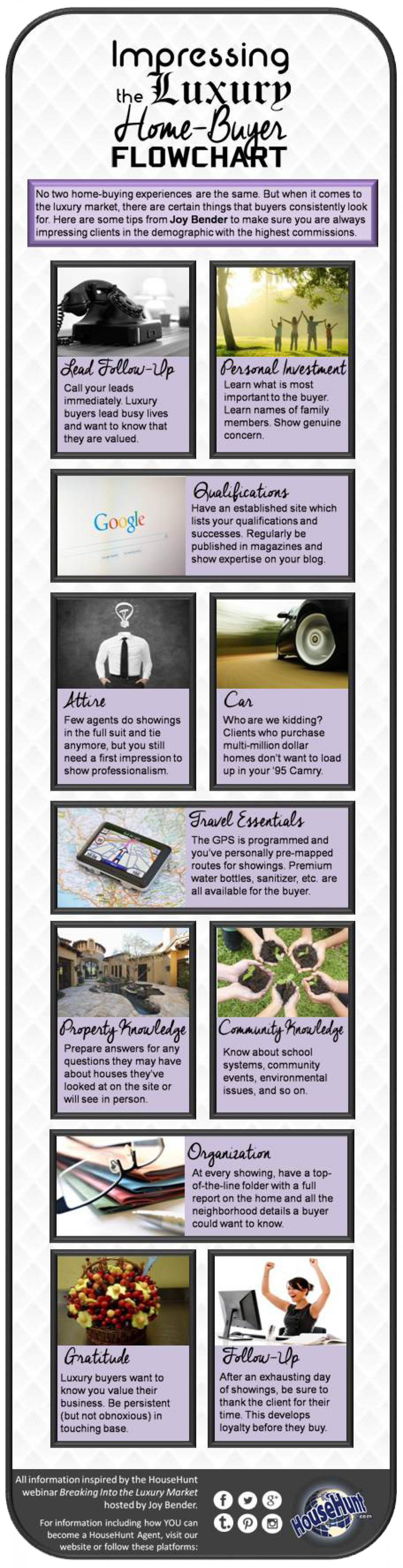 Impressing the Luxury Home Buyer Infographic