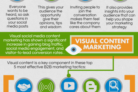 Improve Engagement with Social Media Content Infographic