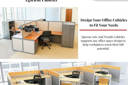 Improve Office Work Flow With Attractive Cubicles Infographic