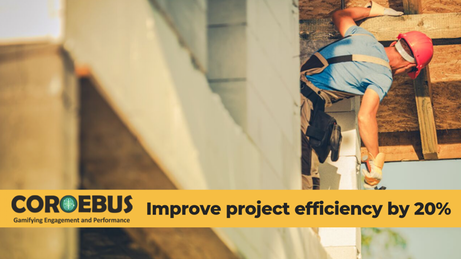 Improve Project Efficiency By 20% Infographic