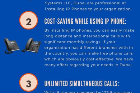 Improve the Safety of your Business With IP Phone Installation Infographic