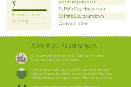 Improve Your Luck with Email Marketing this St. Patrick's Day Infographic