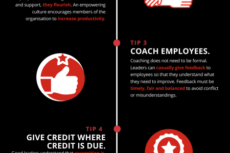 Improving Your Organisational Culture as a Leader Infographic