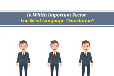 In Which Important Sector You Need Language Translation? Infographic
