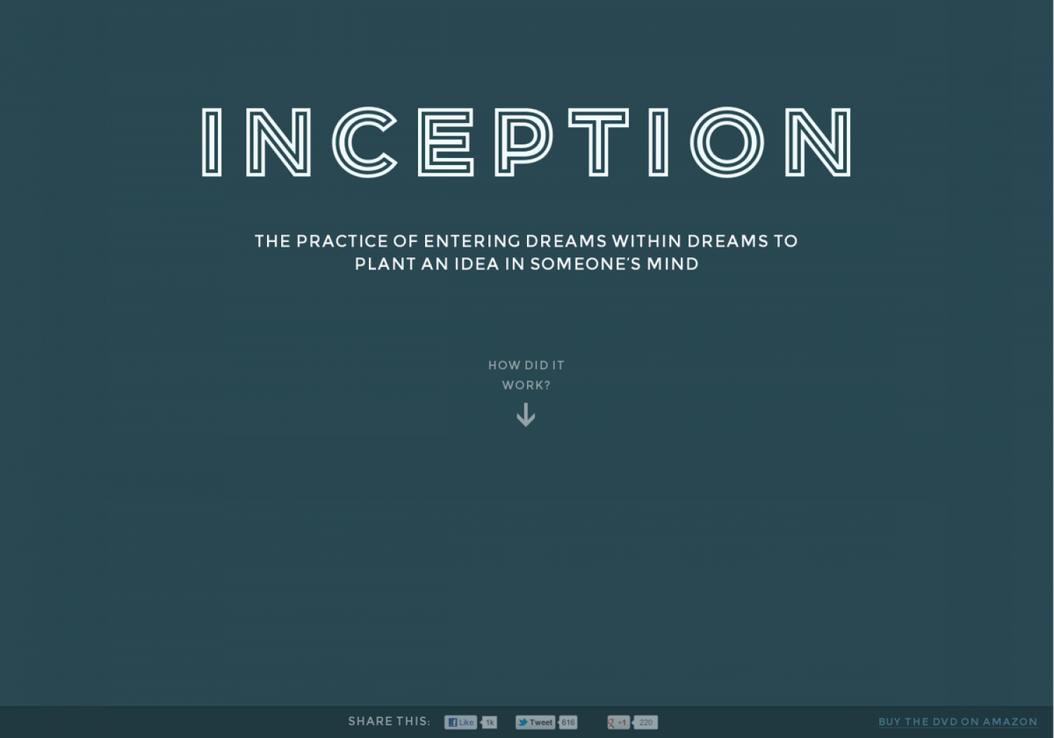 Inception: Inception - Explained