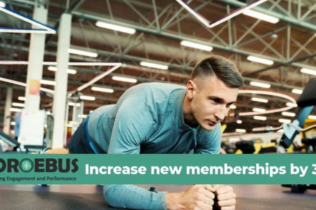 Increase New Memberships By 30%   Gamification in Learning Infographic