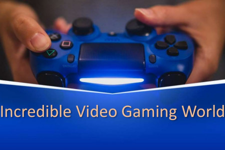 Incredible Video Gaming World Infographic