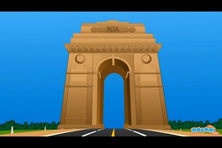 India Gate Delhi History Infographic