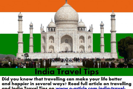 India Travel Tips Infographic