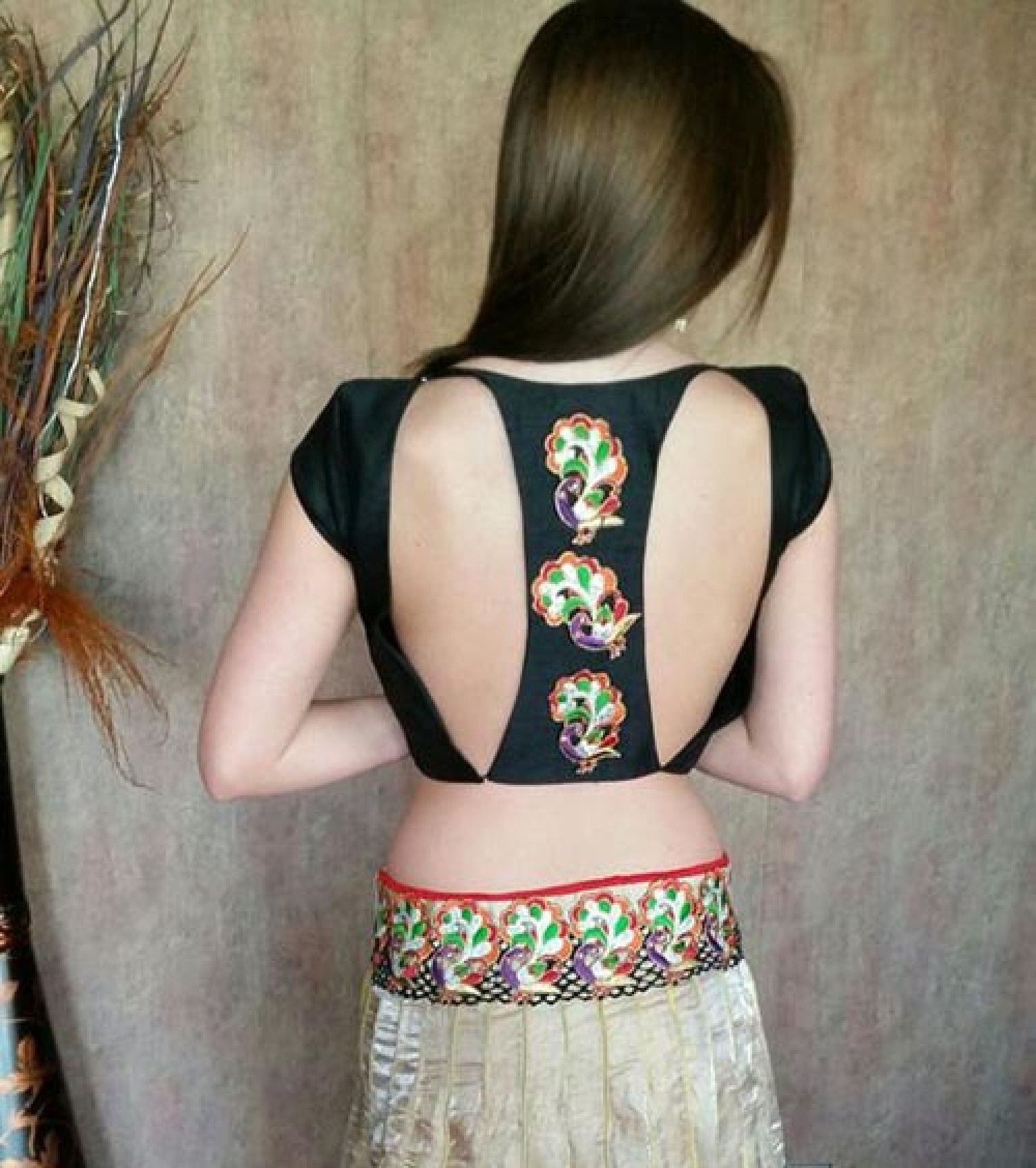 Indian Blouse Designs – Back, Neck, Net Patterns & Types. Best for Designer Silk & Pattu Sarees Infographic
