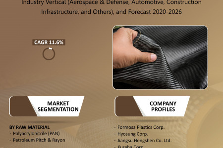 Indian Carbon Fiber Market Size, Share, Growth, Research and Forecast 2020-2026 Infographic