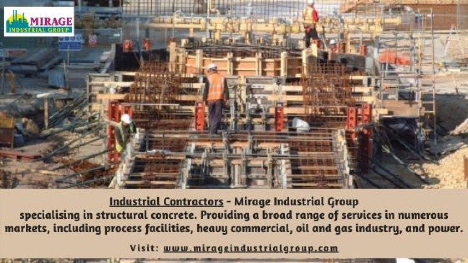 Industrial Contractors in Corpus Christi, Texas - Mirage Industrial Group Infographic