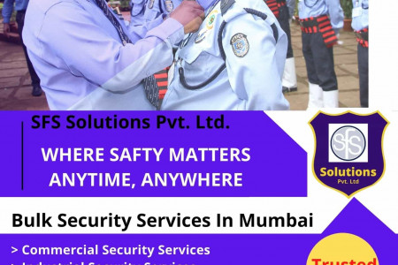 Industrial Security Services In Mumbai | Commercial Security Services In Mumbai Infographic