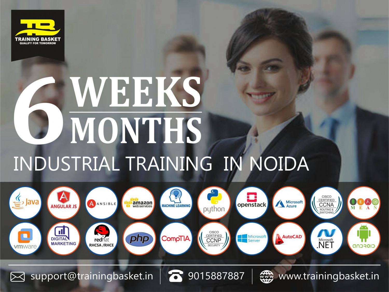 Industrial training in noida Infographic
