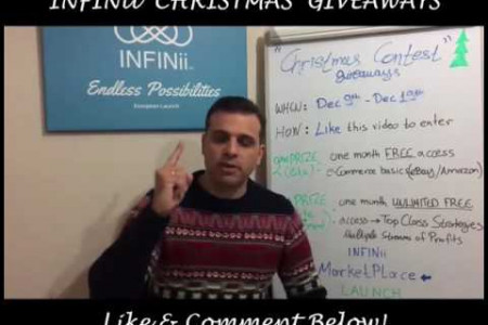 INFINii e-Commerce Christmas Promotion Infographic