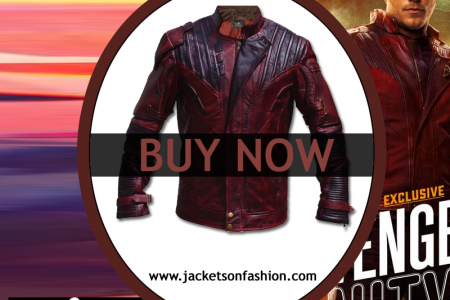 Infinity War STAR LORD JACKET Infographic