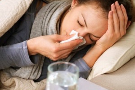 INFLUENZA: SYMPTOMS AND CURE Infographic