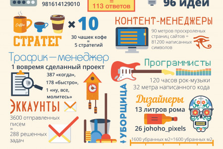 Infografic for COXO company Infographic