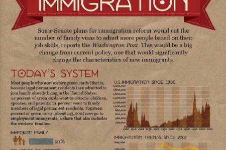 Infographic - Changing The Face Of Immigration Infographic