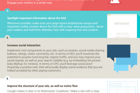 Infographic: 10 Ways Your SEO Can Complement Your CRO Work Infographic