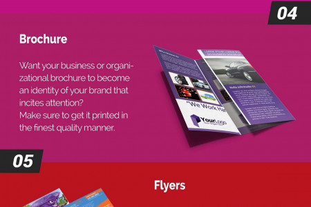 Infographic: 8 Different Types of Color Printing For Businesses Infographic