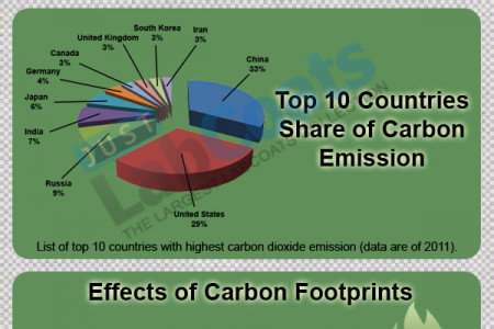 Infographic about Carbon Footprint Infographic