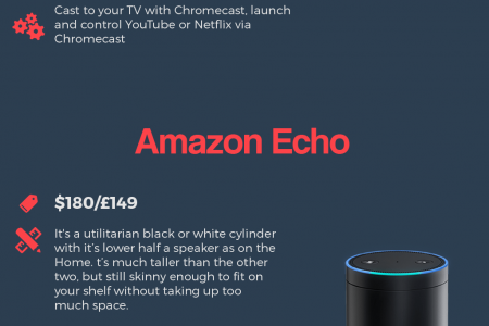 Infographic: Google Home vs. Amazon Echo vs. Apple Homepod: Which Should You Buy? Things to Consider Before Buying Smart Speakers Infographic