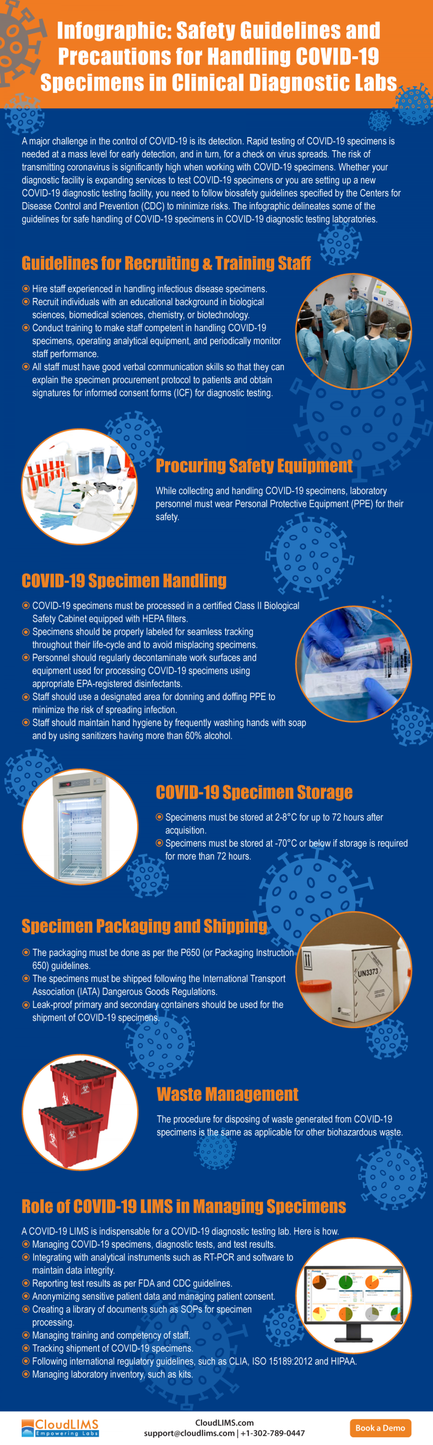 Infographic: Guidelines for COVID-19 Specimens Collection & Handling Infographic