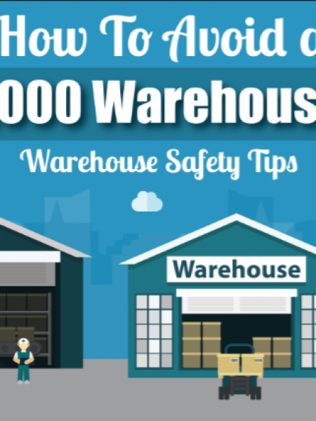 [Infographic] How to Avoid a $100,000 Warehouse Fine: Warehouse Safety Tips Infographic