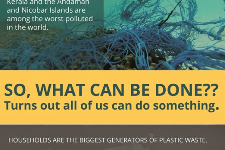 Infographic on Plastic Waste in India by TERI Infographic