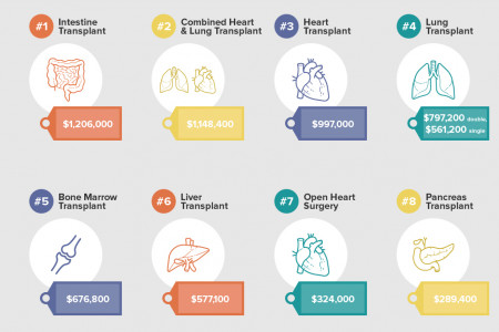 Infographic: The cost of Health in the United States Infographic